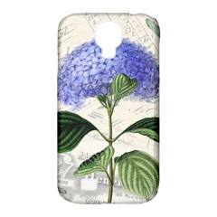 Vintage Shabby Chic Dragonflies Samsung Galaxy S4 Classic Hardshell Case (pc+silicone)