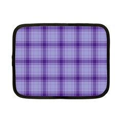 Purple Plaid Original Traditional Netbook Case (small)