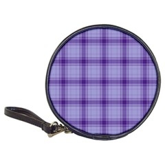 Purple Plaid Original Traditional Classic 20 Cd Wallets