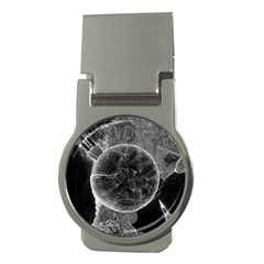 Space Universe Earth Rocket Money Clips (round)