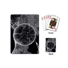 Space Universe Earth Rocket Playing Cards (mini)  by BangZart