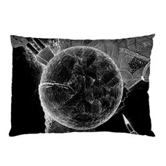 Space Universe Earth Rocket Pillow Case (two Sides) by BangZart
