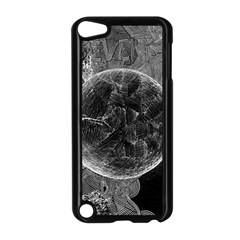 Space Universe Earth Rocket Apple Ipod Touch 5 Case (black) by BangZart