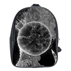 Space Universe Earth Rocket School Bag (xl) by BangZart