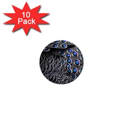 Feather Bird Bird Feather Nature 1  Mini Buttons (10 Pack)