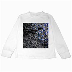 Feather Bird Bird Feather Nature Kids Long Sleeve T Shirts
