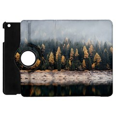 Trees Plants Nature Forests Lake Apple Ipad Mini Flip 360 Case by BangZart