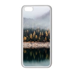 Trees Plants Nature Forests Lake Apple Iphone 5c Seamless Case (white)