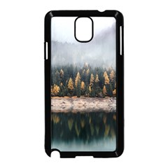 Trees Plants Nature Forests Lake Samsung Galaxy Note 3 Neo Hardshell Case (black)