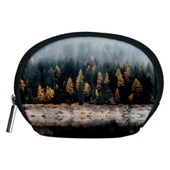 Trees Plants Nature Forests Lake Accessory Pouches (medium)
