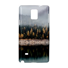 Trees Plants Nature Forests Lake Samsung Galaxy Note 4 Hardshell Case