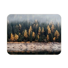 Trees Plants Nature Forests Lake Double Sided Flano Blanket (mini)