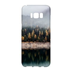 Trees Plants Nature Forests Lake Samsung Galaxy S8 Hardshell Case