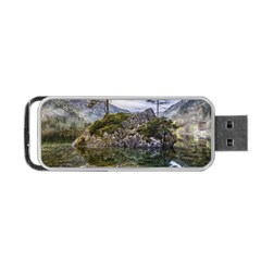 Hintersee Ramsau Berchtesgaden Portable Usb Flash (two Sides)