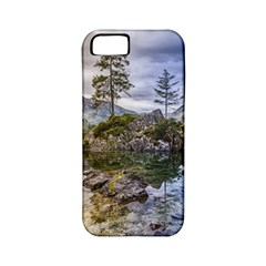 Hintersee Ramsau Berchtesgaden Apple Iphone 5 Classic Hardshell Case (pc+silicone)