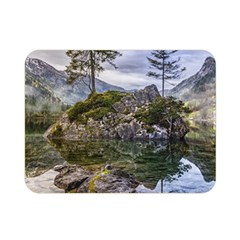 Hintersee Ramsau Berchtesgaden Double Sided Flano Blanket (mini)