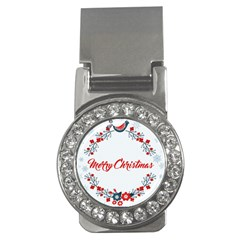 Merry Christmas Christmas Greeting Money Clips (cz)  by BangZart