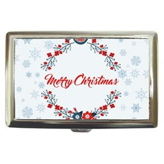 Merry Christmas Christmas Greeting Cigarette Money Cases
