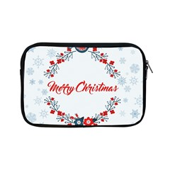 Merry Christmas Christmas Greeting Apple Ipad Mini Zipper Cases