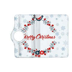 Merry Christmas Christmas Greeting Kindle Fire Hd (2013) Flip 360 Case by BangZart