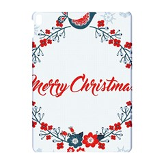 Merry Christmas Christmas Greeting Apple Ipad Pro 10 5   Hardshell Case