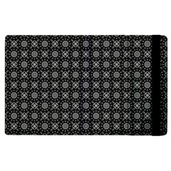 Kaleidoscope Seamless Pattern Apple Ipad 2 Flip Case