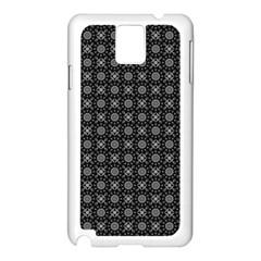 Kaleidoscope Seamless Pattern Samsung Galaxy Note 3 N9005 Case (white)