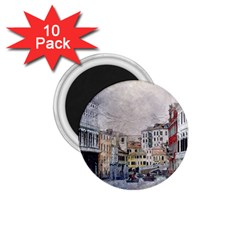 Venice Small Town Watercolor 1 75  Magnets (10 Pack)