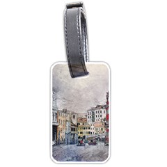 Venice Small Town Watercolor Luggage Tags (two Sides) by BangZart