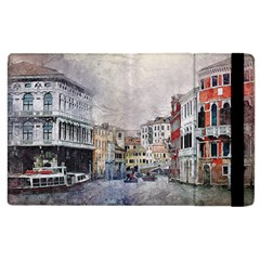 Venice Small Town Watercolor Apple Ipad 2 Flip Case by BangZart