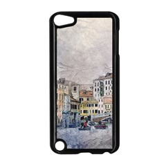 Venice Small Town Watercolor Apple Ipod Touch 5 Case (black) by BangZart