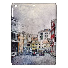 Venice Small Town Watercolor Ipad Air Hardshell Cases