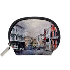 Venice Small Town Watercolor Accessory Pouches (small)  by BangZart