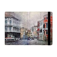 Venice Small Town Watercolor Ipad Mini 2 Flip Cases by BangZart