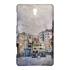Venice Small Town Watercolor Samsung Galaxy Tab S (8 4 ) Hardshell Case  by BangZart