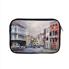 Venice Small Town Watercolor Apple Macbook Pro 15  Zipper Case by BangZart