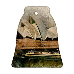 Sydney The Opera House Watercolor Ornament (bell)