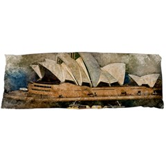 Sydney The Opera House Watercolor Body Pillow Case Dakimakura (two Sides)