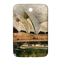 Sydney The Opera House Watercolor Samsung Galaxy Note 8 0 N5100 Hardshell Case