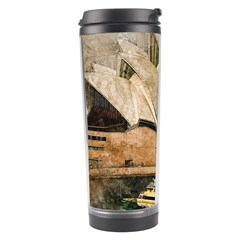 Sydney The Opera House Watercolor Travel Tumbler by BangZart