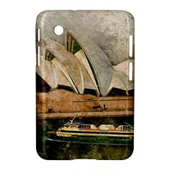 Sydney The Opera House Watercolor Samsung Galaxy Tab 2 (7 ) P3100 Hardshell Case