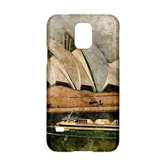Sydney The Opera House Watercolor Samsung Galaxy S5 Hardshell Case