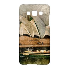 Sydney The Opera House Watercolor Samsung Galaxy A5 Hardshell Case