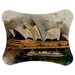 Sydney The Opera House Watercolor Jigsaw Puzzle Photo Stand (bow) by BangZart