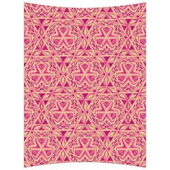 Tribal Pattern Hand Drawing Back Support Cushion