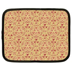 Tribal Pattern Hand Drawing 2 Netbook Case (xxl)  by Cveti