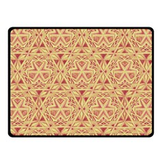 Tribal Pattern Hand Drawing 2 Fleece Blanket (small) by Cveti