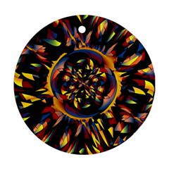 Spiky Abstract Ornament (round)