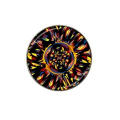 Spiky Abstract Hat Clip Ball Marker by linceazul