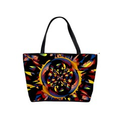 Spiky Abstract Shoulder Handbags by linceazul
